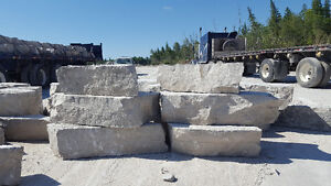 Landscaping  stone for sale right from the quarry