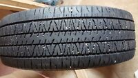 4 tires without rims 35.00 each