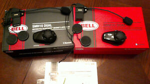 Bell SMH10 dual motorcycle headset and intercom