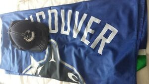 Vancouver Canucks Flag and hat