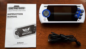 Sega Genesis portable game player.