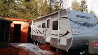 Roulotte 33' extention camping st come