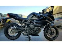 2012 12 YAMAHA XJ6 S DIVERSION 600 4100 MILES PRISTINE BLACK XJ 6 S NAKED