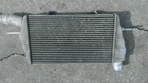 Mitsubishi Evolution intercooler