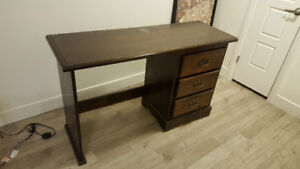 Nice wooden desk looking for new home