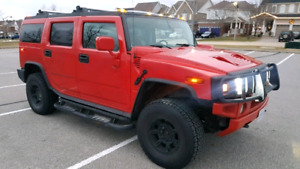Trade in value at least 15k. Hummer h2 must see