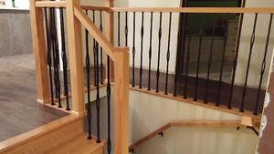 Portes rampe escalier fen tres portes ville de for Rampe escalier bois interieur
