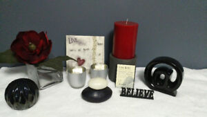 Black/Grey-Red Decor Package