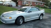 1996 Mustang Convertible 119,680 kms $3500 Etested & Certifed.