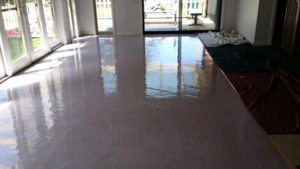 Vinyl floor strip and seal cleaning services sydney  Greenacre Bankstown Area Preview