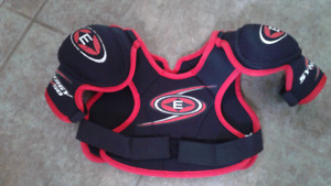 Child's hockey chest protector