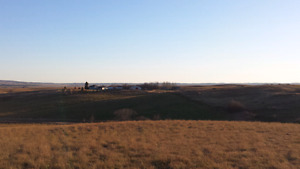 160 acres + south of moose jaw