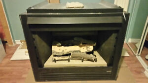 Gas fireplace (Heat n Glo) -   very good condition