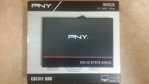 "PNY 960GB 2.5"" SATA 6.0Gbps Solid State Drive SSD"