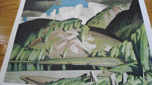 Several A J Casson, Group of Seven, Ltd. Ed. Hand Signed Prints