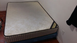 Orthopedic Double Size mattress with the Box