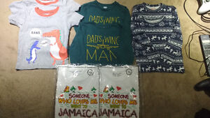 2t boys assorted shirts