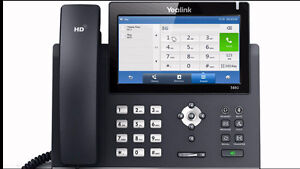 "VOIP Yealink SIP-T48G Phone,7"" touch screen $325"