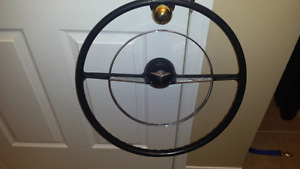 56 chev steering wheel