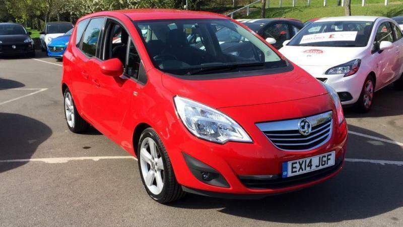 2014 Vauxhall Meriva 14i 16v Tech Line 5dr Manual Petrol Estate