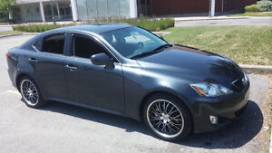 2008 Lexus IS Noir Gris Berline