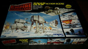1981 Star Wars Empire Strikes Back BATTLE ON ICE PLANET HOTH
