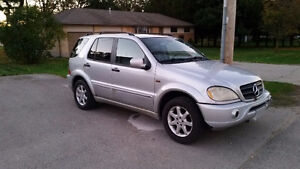 2001 Mercedes-Benz M-Class ML320 SUV London Ontario image 1