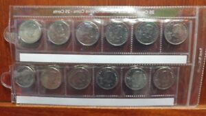 Canadian Olympic Quarter Set in case