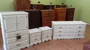 Professionally painted dresser set just completed from $199 pc