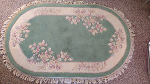 SMALL OVAL AREA RUG
