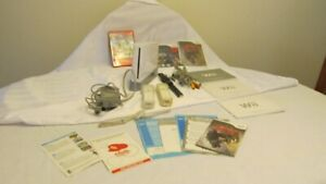 Nintendo Wii System plus all Accessories and 3 Games