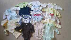 For sale baby clothing 0-6months Like brand new
