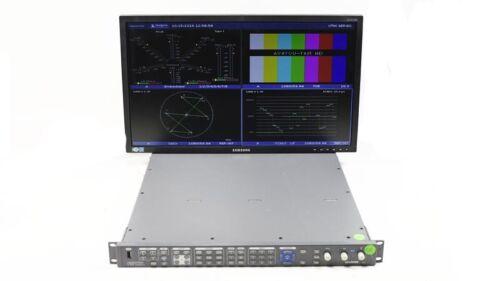 Harris Videotek VTM-4100 PKG Waveform Monitor Opt 10 SD/HD AAP A3-OPT-2 AAP