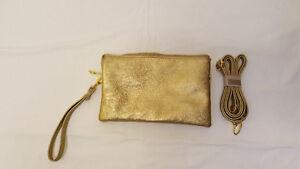 Small Gold Colour Handbag - New and Unused