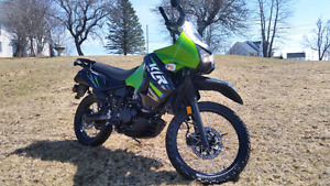2013 Klr650 kawasaki duel sport  low kms original priced to sell
