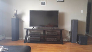 LG 55inch 4k with stand