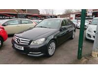 2013 Mercedes-Benz C Class C180 BlueEFFICIENCY Executive SE 4dr Auto SALOON Petr