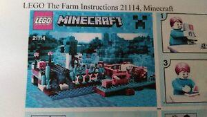 Lego Minecraft THE FARM 21114
