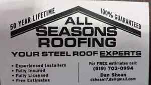 All Seasons Roofing Stratford Kitchener Area image 1