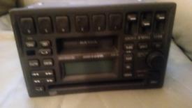 volvo s40 original radio cd player and tape