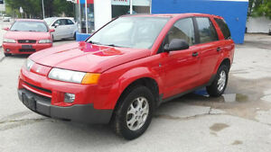 2002 SATURN VUE SUV - AWD, CRUISE, ALLOY WHEELS