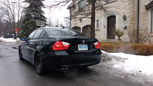 BMW FOR TRADE - STEALTH BLACK ON BLACK 6 SPEED MANUAL!!
