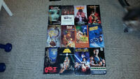 Collection de Film VHS MAJORITAIREMENT EN ANGLAIS PLUS 215 FILMS