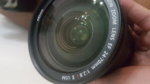 Canon 24-70mm F/2.8 L II USM (price can be negotiated)