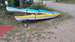 kayak 10et 12 pieds Pelican