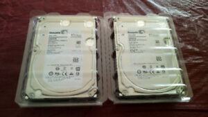 (2x) 6TB Seagate NAS Hard Drives BRAND NEW NEVER USED