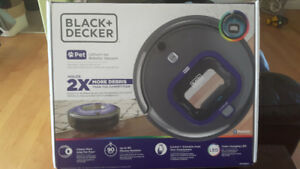 Black and Decker Pet Robotic Vacuum