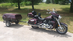 2008 Yamaha Royal Star Venture with Trailer