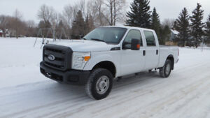 2011 Ford F250 4WD LOW MILEAGE