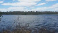 Great Value! 2.5 Acre Waterfront Lot on Hills Lake, Plevna